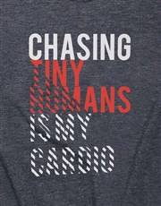 Chasing Tiny Human Ladies T Shirt