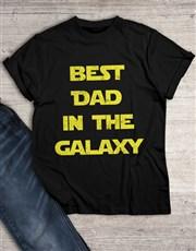 Best Dad in Galaxy T Shirt
