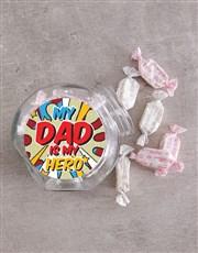Superhero Dad Candy Jar