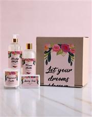 Blossom Bath Kraft Gift Set