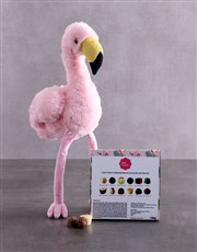 Flamingo And Choc Tray