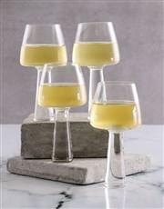 Carrol Boyes White Baobab Wine Glass Set