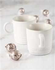 Le Creuset  Cotton Cuppachino Mug Hamper x2