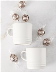 Le Creuset Cotton Cappuccino Mug Hamper