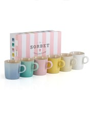 Le Creuset Gift Set 6 Pastel 350ml Mugs