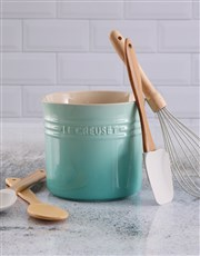 Le Creuset Utensil Holder Cool Mint