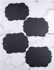 Decorative Chalk Board Placemat