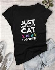 One More Cat Ladies T Shirt