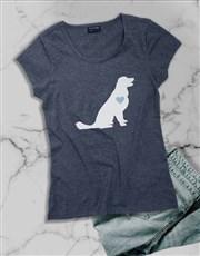 Dog Love Ladies T Shirt