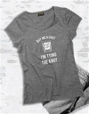Buy Me A Shot Ladies T Shirt