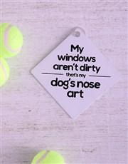 Nose Art Car Sign