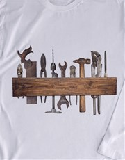 Vintage Tools Long Sleeve T Shirt