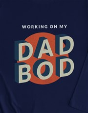 Dad Bod Long Sleeve T Shirt