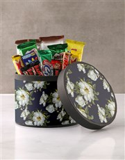Vintage Floral Wrap Choc Hat Box