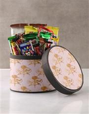 Classic Floral Wrap Choc Hat Box