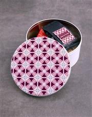 Purple Premium Coffee Tin Hamper
