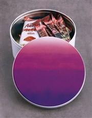 Purple Hue Hot Chocolate Tin Hamper