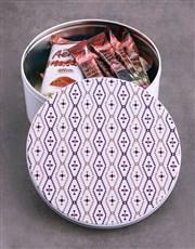 Purple Diamond Hot Chocolate Tin Hamper