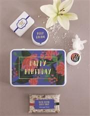 Birthday Bath and Body Tin