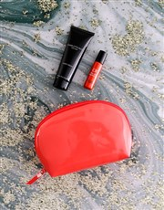 Charlotte Rhys Coral Cosmetic Bag Hamper