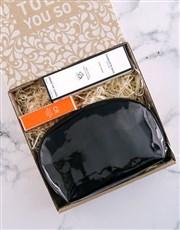 Charlotte Rhys Black Cosmetic Bag Hamper