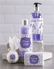 Bath And Body Lavander Love Gift Hamper