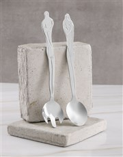 Carrol Boyes Woman Salad Servers
