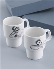 Carrol Boyes Stackable Mugs
