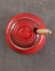 Le Creuset Barbeque Cherry Red Pot