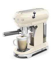 SMEG Retro Espresso Coffee Machine Crème