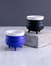 Purple and Black Potjie Pot Hamper