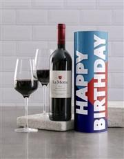 Birthday Celebration Wine Tube