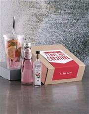 I Love You Cocktail Kit