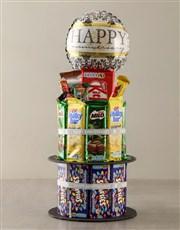 Chocolate Anniversary Cake Surprise