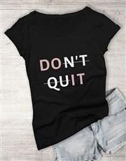 Do It Ladies T Shirt