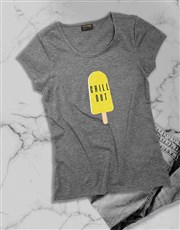 Chill Out ladies T Shirt