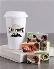 Faith Can Move Travel Mug