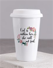 God within Her Travel Mug