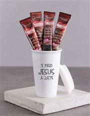 I need Jesus Travel Mug