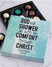 His Comfort Chocolate Tray