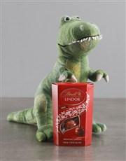 Dinosaur Teddy With Lindt