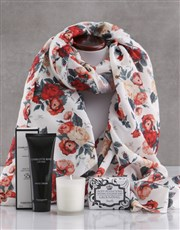 Floral Scarf and Charlotte Rhys Gift