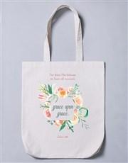 Grace Upon Grace Tote Bag