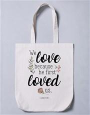 Loved Us Tote Bag