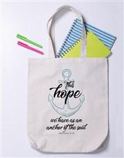 Hope Anchor Soul Tote Bag