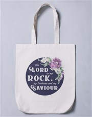Lord is my Rock Tote Bag