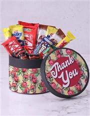 Thank You Flower Hatbox