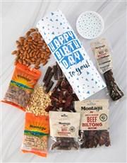 Birthday Biltong And Nuts Tube