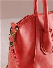 Refined Red Bag Elegance