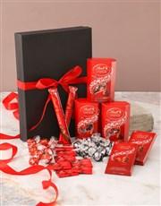 Ravishing Red And Black Chocolate Box